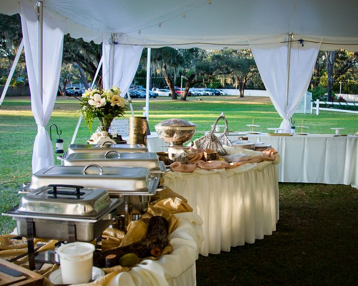 Buffet by Affordable Catering from Wedding at Casa Lantana Brandon, FL.