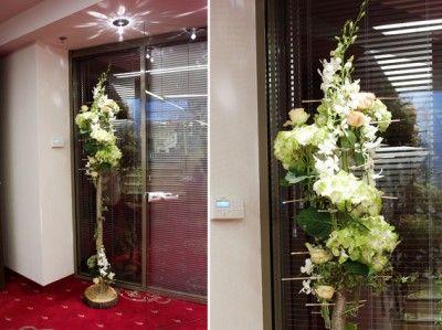 YaU concept_yau flowers_yau events_structuri cu flori_miscare in doi international iasi_structure with hydrangea and orchids