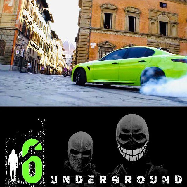 Alfa Romeo Giulia Quadrifoglio In Neon Green From The 6 Underground Movie Opens With A 20 Minute C Alfa Romeo Giulia Quadrifoglio Alfa Romeo Giulia Dream Cars