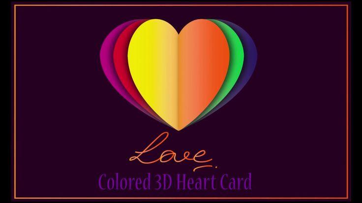 Illustrator tutorial : Colored heart card
