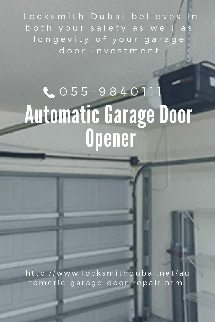 Pin By Riyan Mehmood On Locksmithdubai Net Door Repair Garage Door Repair Garage Door Opener Installation