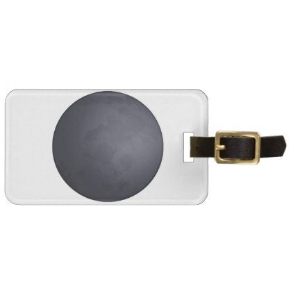 #Dark moon - Emoji Luggage Tag - #travel #accessories