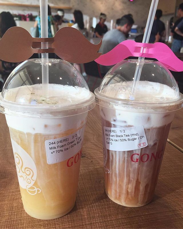 Coffee Jelly Gong Cha