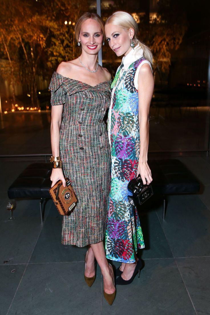 Lauren Santo Domingo and Poppy Delevingne, both in Chanel - November 2016