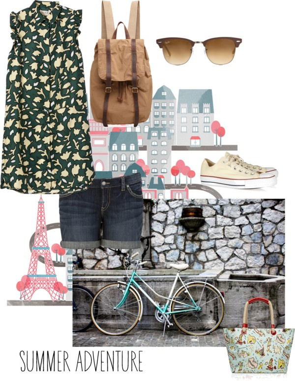 """""""urban summer style"""" by grollover on Polyvore"""