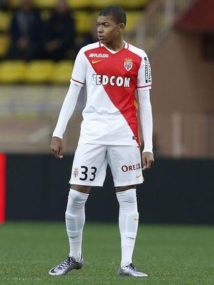 Kylian Mbappe AS Monaco