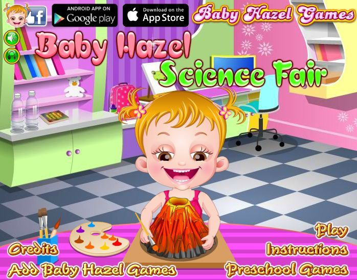 Teacher has asked Baby Hazel and friends to make innovative science projects for their presentation at Science Fair. Let's see what each kid has designed and who wins the award? http://www.babyhazelgames.com/games/baby-hazel-science-fair.html