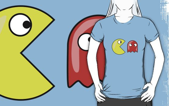 CHOMP CHOMP CHOMP THE GHOST PACMAN by Chillee Wilson by ChilleeWilson