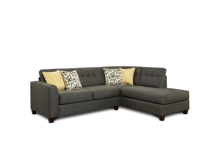 Shop For Fusion Raven 2 Piece Sectional, And Other Living Room Sectionals  At Kittleu0027s Furniture In Indiana.