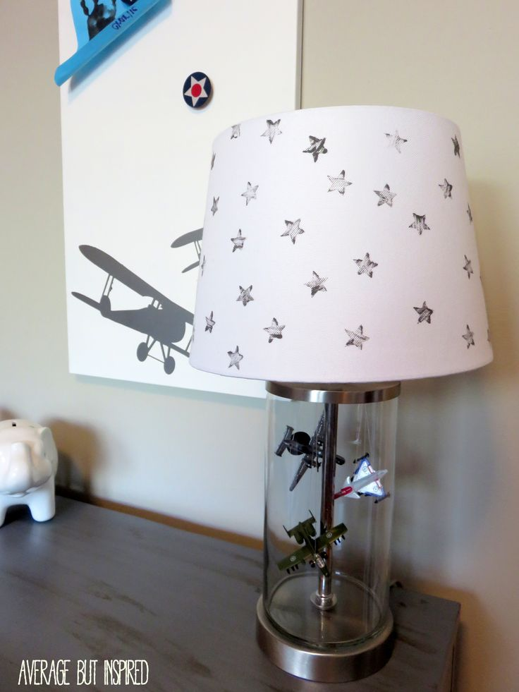 This vintage airplane bedroom is filled with easy and budget-friendly DIY details that will grow with the little boy who lives here!