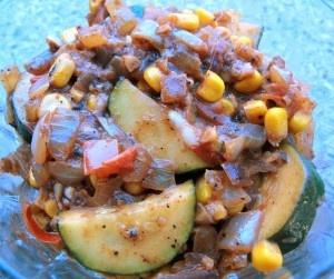 Southwestern Fresh Veggie Medley Recipe from Whisked Foodie | Whisk up something delicious.