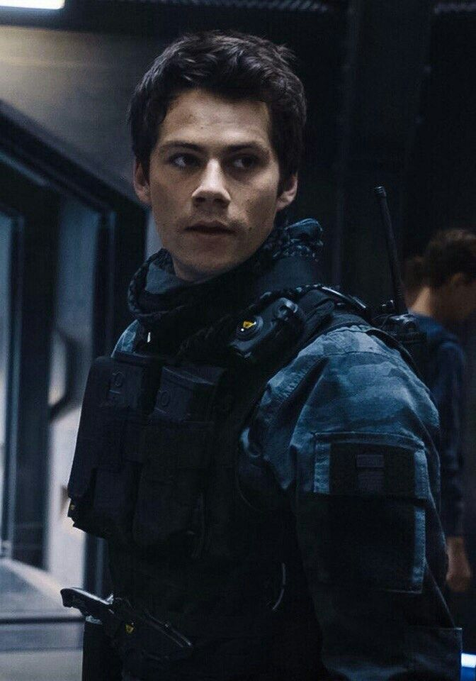 Dylan O'Brien as Thomas  #TheMazeRunner: TheDeathCure