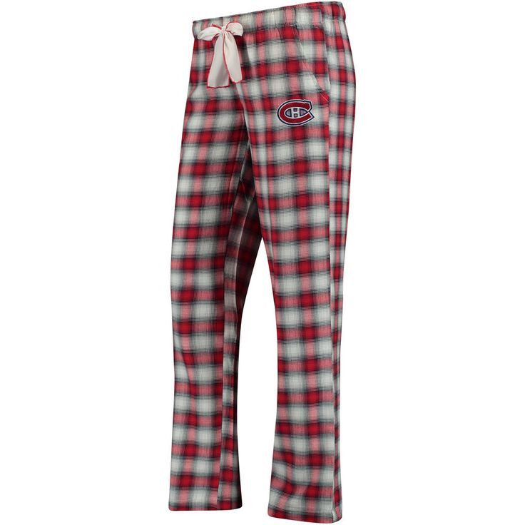 Women's Montreal Canadiens Concepts Sport Red/Navy Forge Pajama Pants