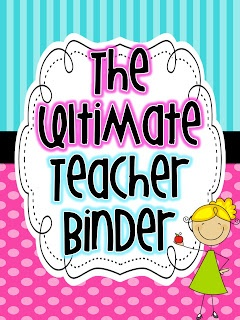Live, Love, Laugh Everyday in Kindergarten: Teacher Binder Organization