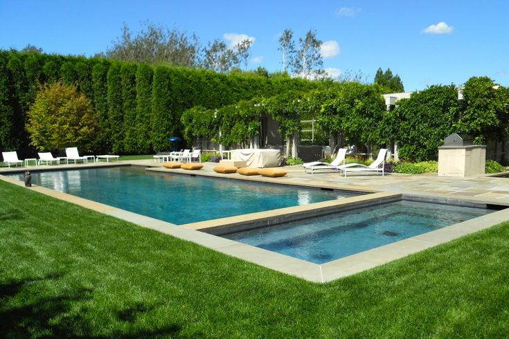 56 best water mill pool house images on pinterest my for Pool design hamptons