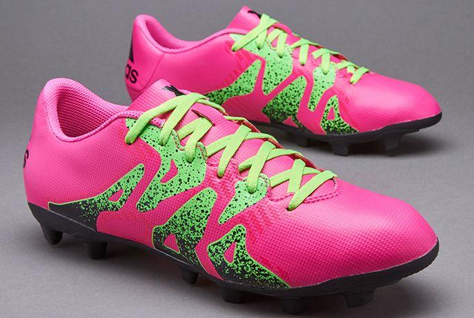 adidas X 15.4 FxG - Shock Pink/Solar Green/Core Black