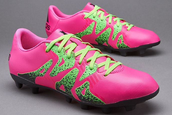 adidas X 15.4 FxG - Shock Pink/Solar Green/Core Black
