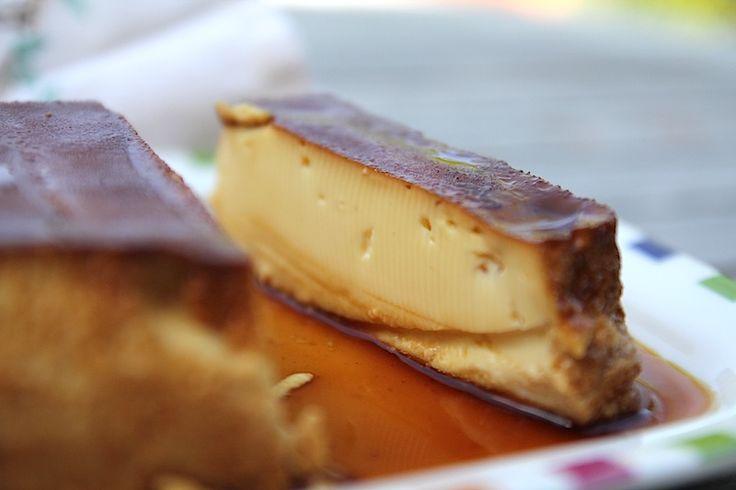 Crème renversée au caramel (pour la recette, cliquez sur l'image)