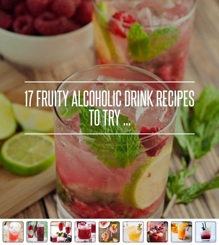 10. Strawberry Coconut Daiquiri - 17 Fruity Alcoholic Drink Recipes to Try ... → Food