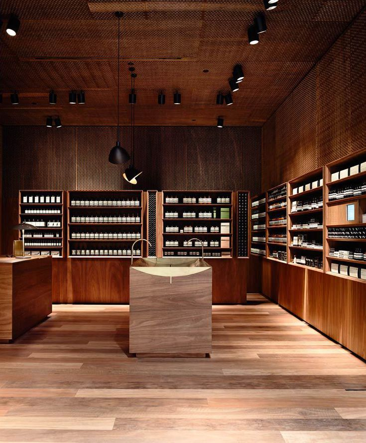 Aesop Emporium Melbourne By KTA PSLAB Photo Derek Swalwell In Collaboration With Kerstin Thompson Architects Has Created The Lighting