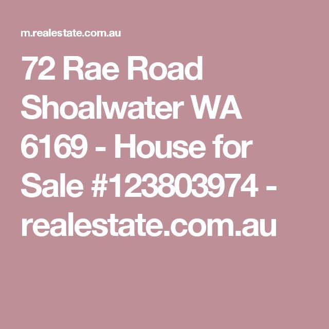 72 Rae Road Shoalwater WA 6169 - House for Sale #123803974 - realestate.com.au