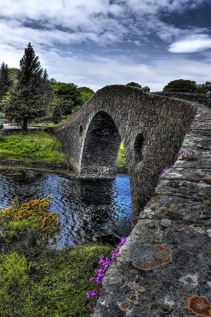 Atlantic Bridge, Seil, Scotland (HDR) by www.bazpics.com on Flickr