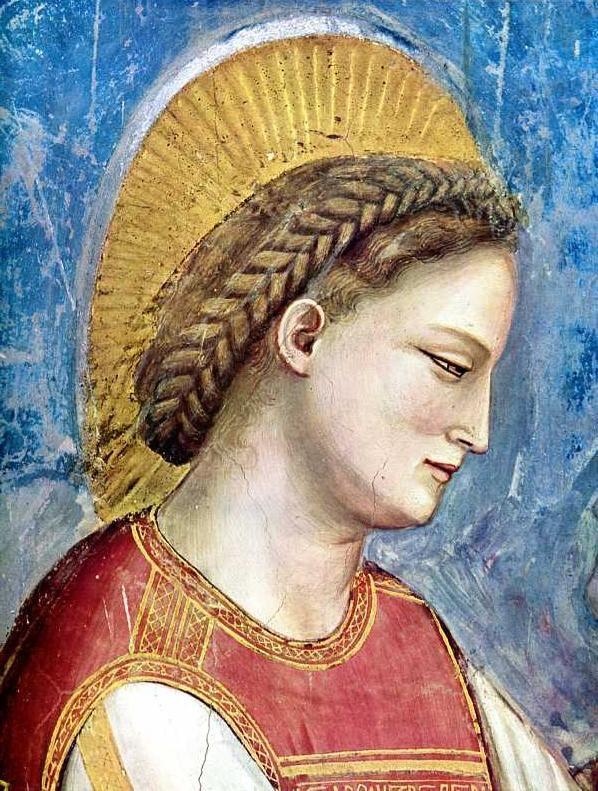 Giotto - Visitazione - Detail