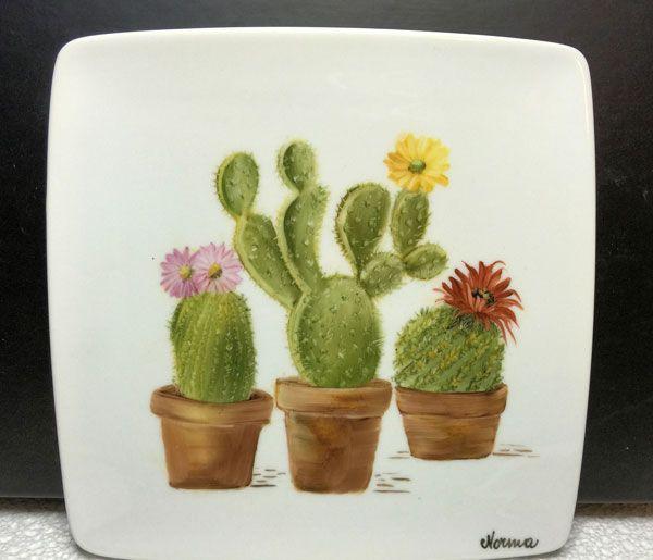 Voglio il mondo a colori: Piatto cactus