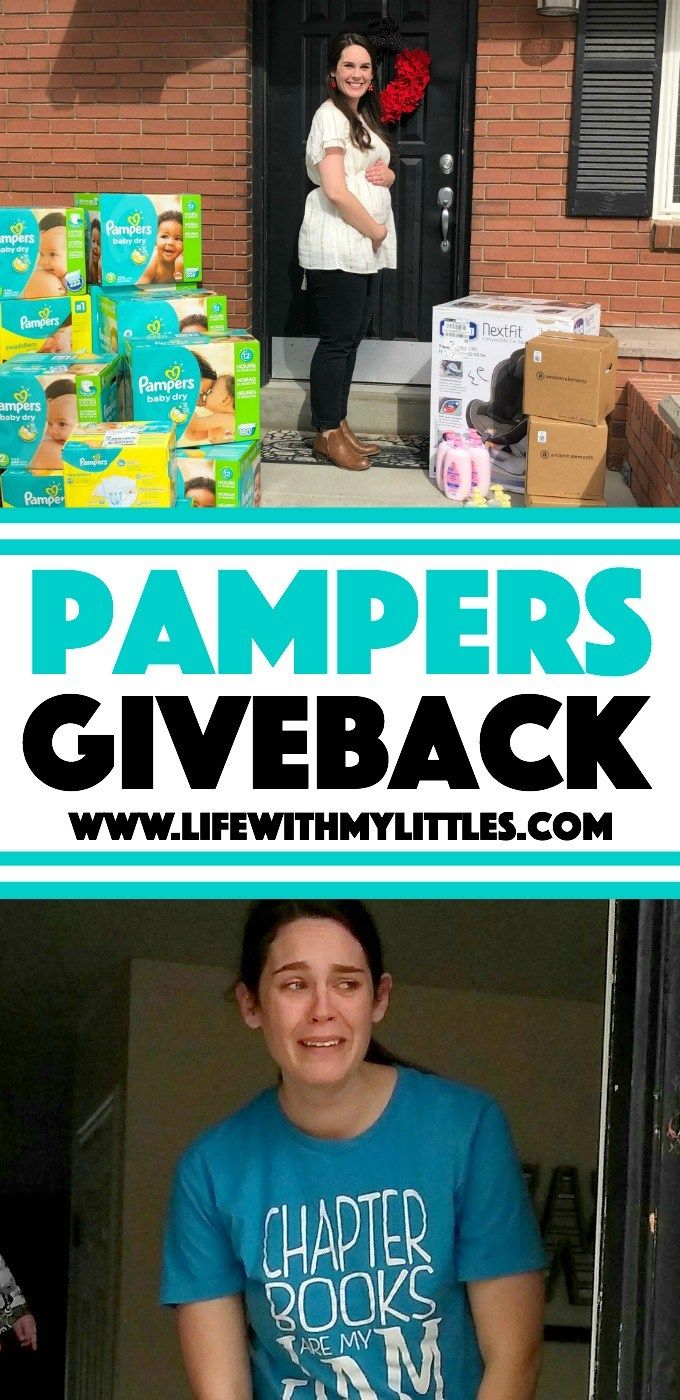 ... on a Pampers Giveback and surprised my little sister with $1,000 worth  of baby things! Read all about what I got her and see her tear-jerking  reaction!