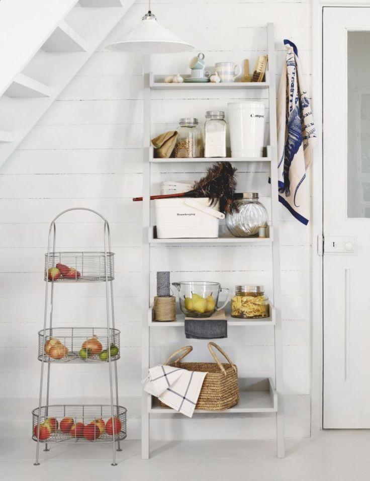 Step Ladder Shelving Unit  For the Home  Pinterest