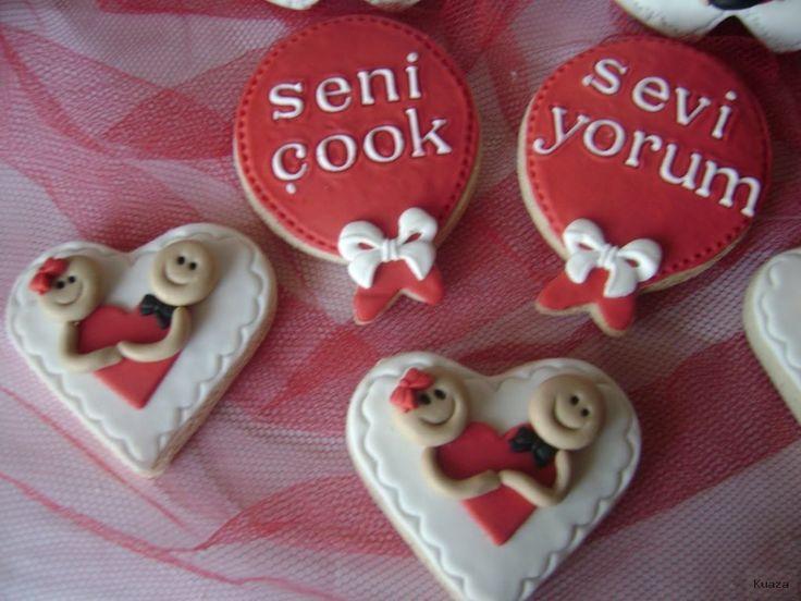 Sevgililer Günü Kurabiyesi Ve Görselleri | Pratik Ev Yemek …