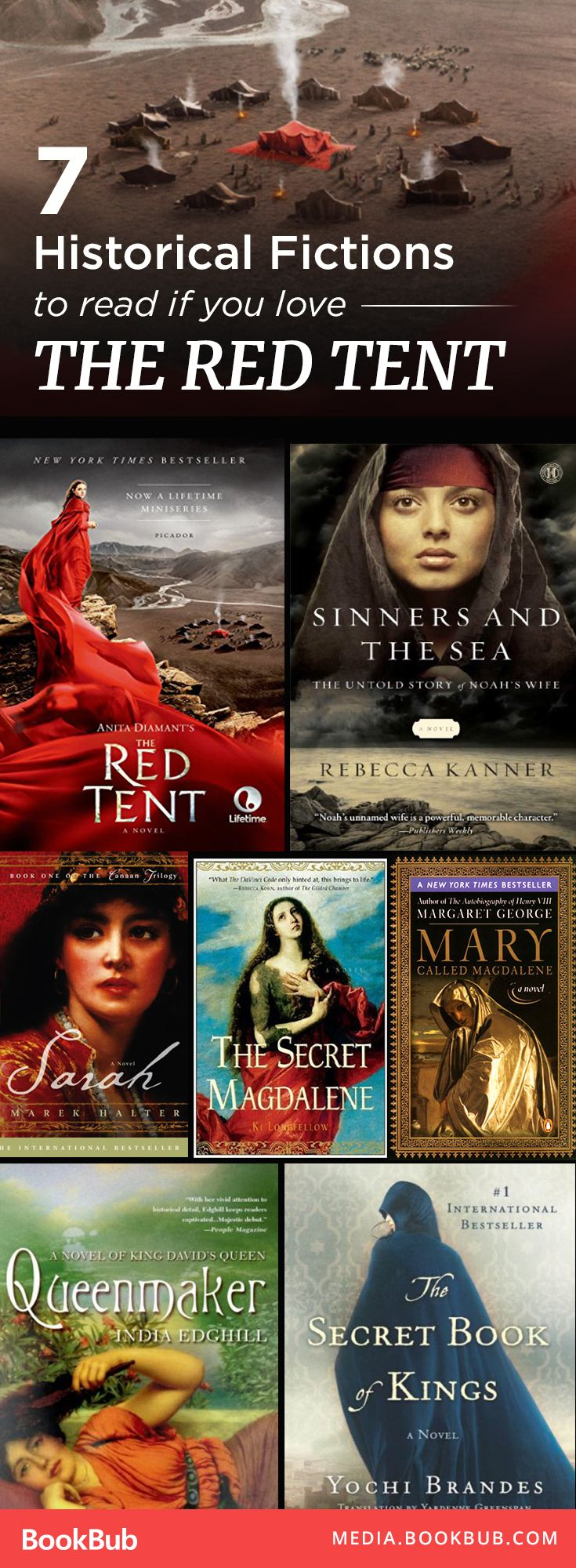 Amazing historical fiction novels to read next -- especially for fans of The Red Tent.