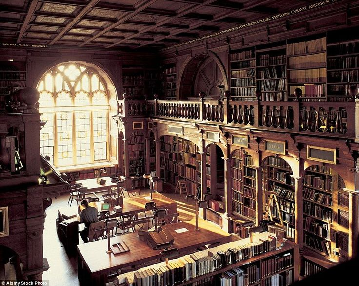 One of the oldest libraries at the heart of Oxford's historic University isDuke Humfrey's Library in the Bodleian, which held the primary function as a reading room for maps, music and pre-1641 rare books until 2015