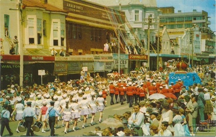 When the Carnival procession went down Ruthven Street