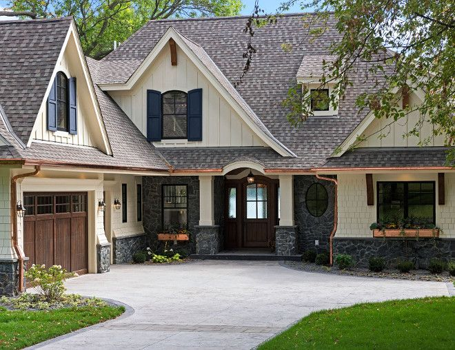 Best 25 copper gutters ideas on pinterest siding for for Cottage siding ideas