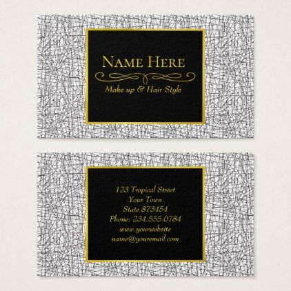 Chaotic lines business card  $30.65  by adamfahey  - cyo customize personalize diy idea