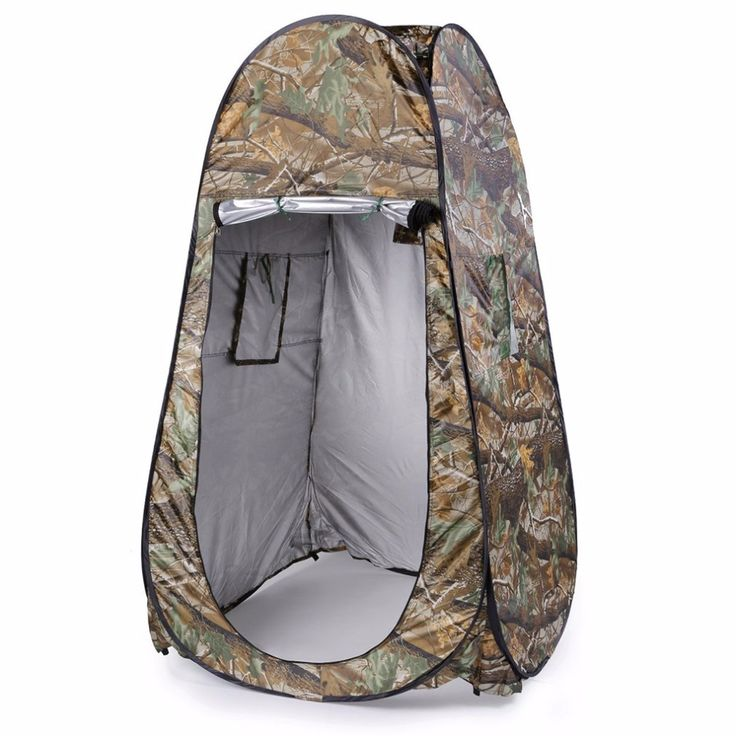 Outdoor Camping Toilet Tent Changing Room With Carrying Bag