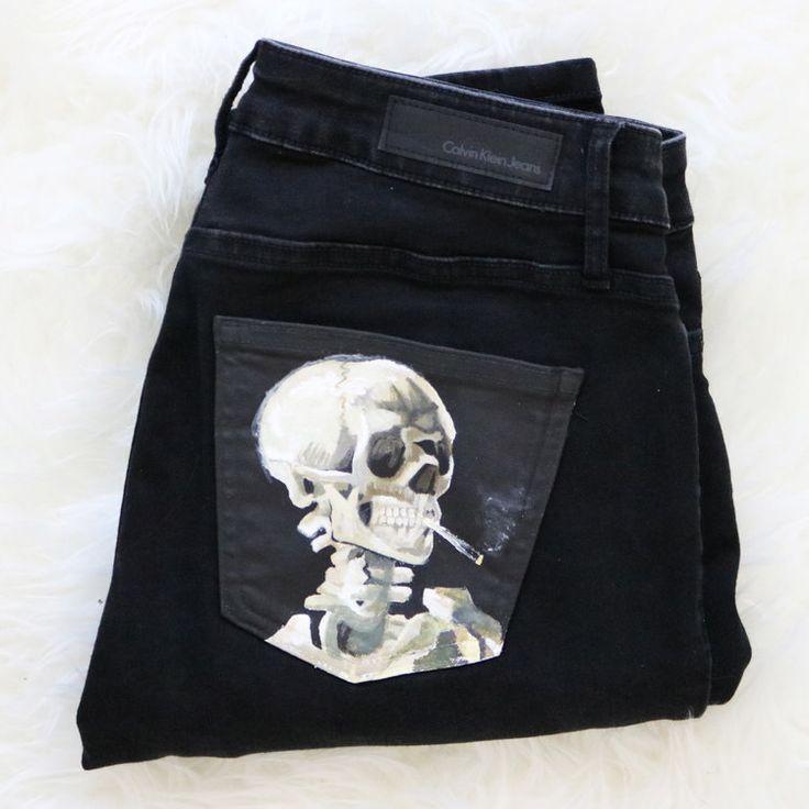 Custom Jeans – Choose From Inventory   Kessler Ramirez – Art & Travel