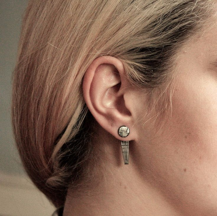 """A Maze In"" Jacket Earrings – Taer Jewellery"