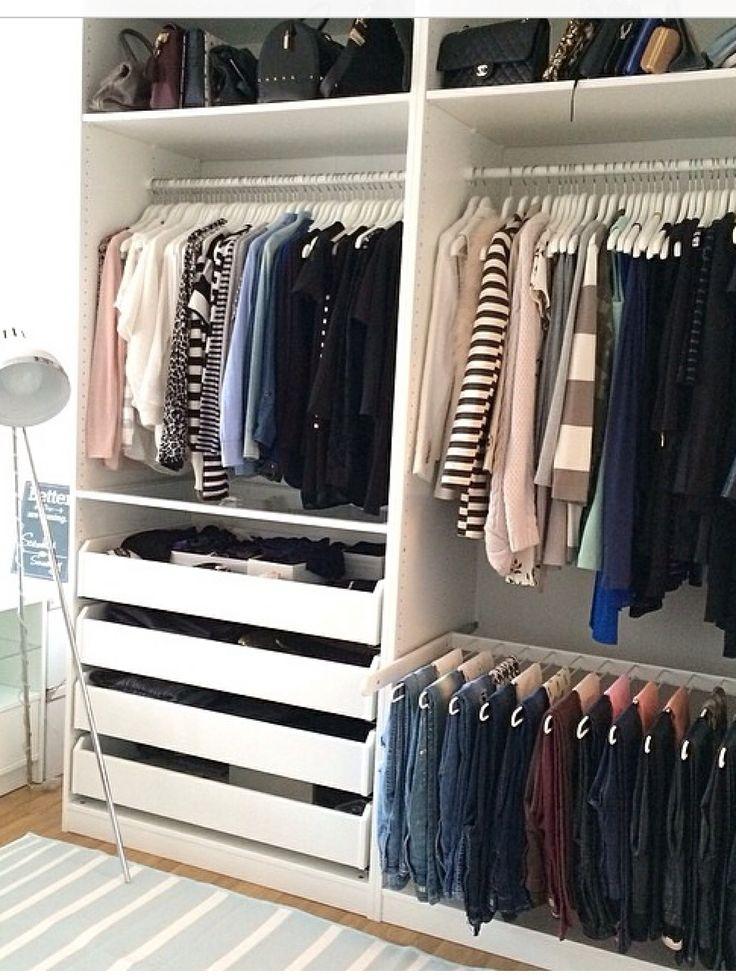 Stunning Kleiderschrank Ideen Begehbarer Kleiderschrank Kleiderschrank Aufbewahrung Wohn Design Ankleidezimmer Offener Schrank Schlafzimmer Inspiration