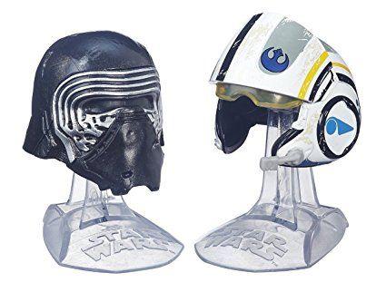 Star Wars Black Series: Titanium Series Kylo Ren & Poe Dameron Helmets