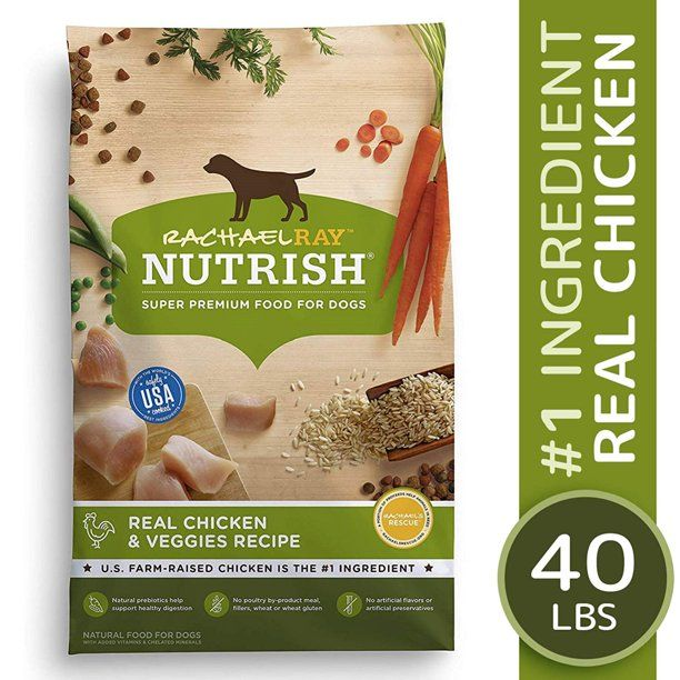 Rachael Ray Nutrish Natural Premium Dry Dog Food Real Chicken Veggies Recipe 14 Lbs Walmart Com Dog Food Recipes Healthy Dog Food Recipes Natural Dog Food