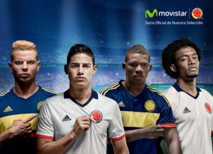 Colombia se viste de fútbol con Movistar.