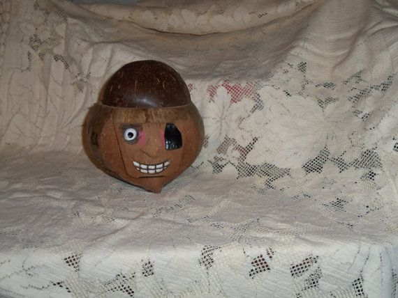 Hey, I found this really awesome Etsy listing at https://www.etsy.com/listing/224946370/pirate-coconut-head-money-bank-container