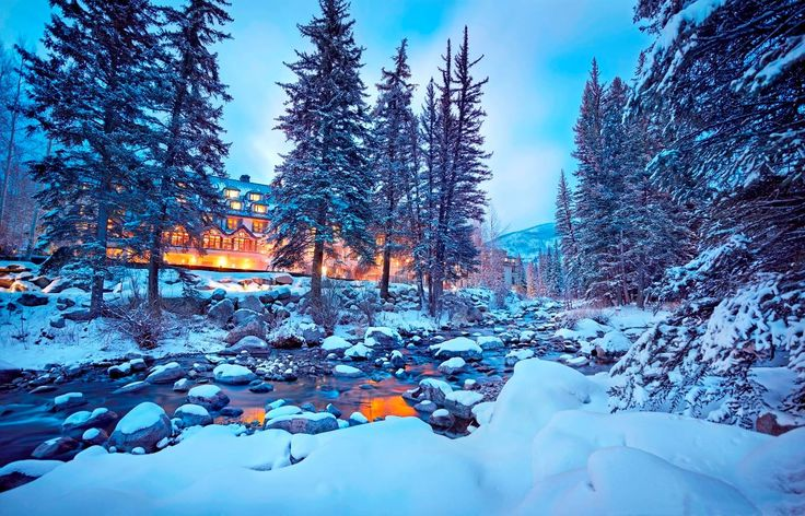 These hotels in the Rocky Mountains are guaranteed to turn your winter into a wonderland -- complete with skiing, sledding, outdoor hot tubs and cozy fireplaces!