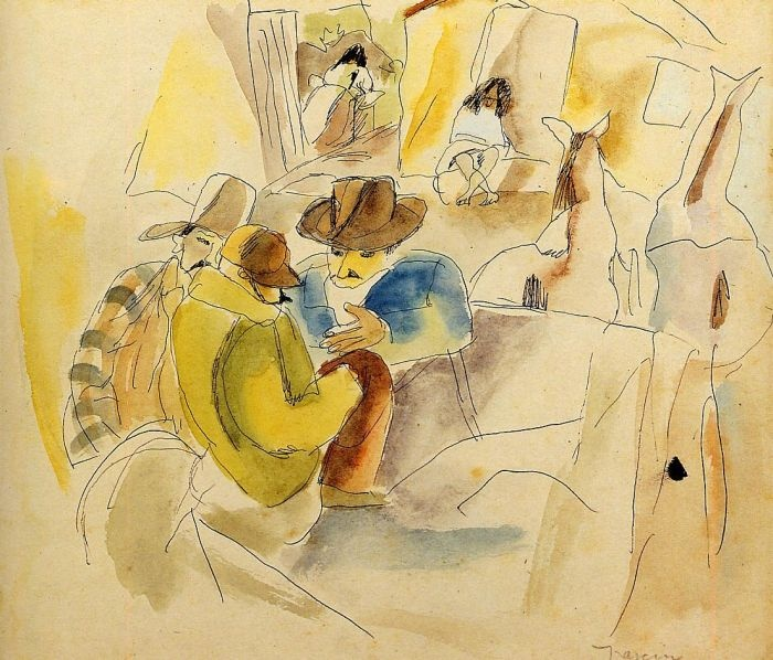 Scene from the Southern States by Jules Pascin #art