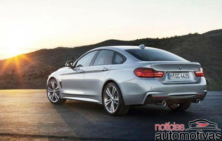 BMW Série 4 Gran Coupé: Surgem novas imagens oficiais do modelo | Notícias Automotivas - Carros