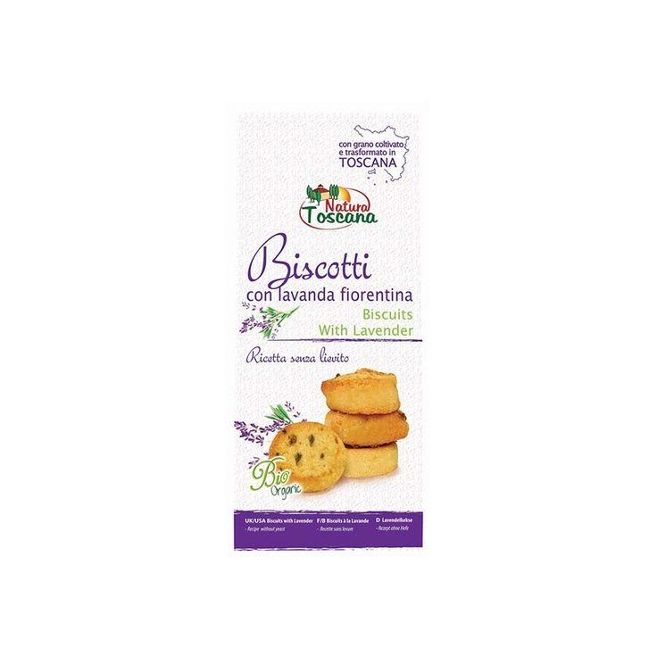 Biscotti con Lavanda Fiorentina biologici Natura Toscana