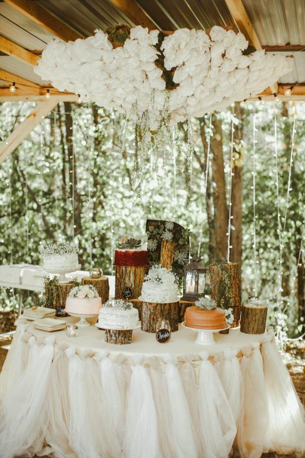 Absolutely Enchanting Southern DIY Wedding at Aurora Acres