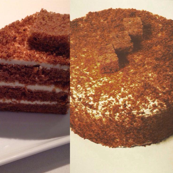 Carrot cake with philadelphia cream by chef patissier argiris papastavrou